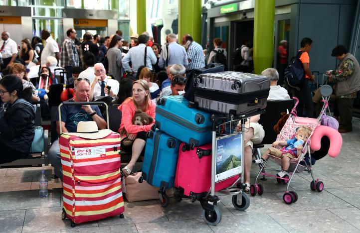 British Airways Resumes Flights from Gatwick, Heathrow after IT Crash