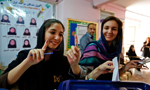 Wariness in Tehran Ahead of Presidential Results