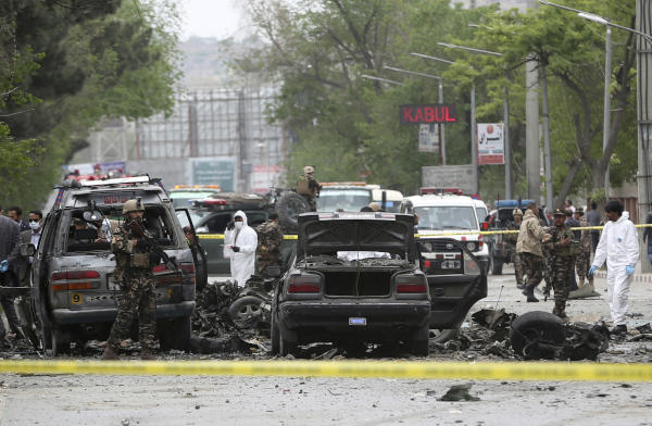 Deadly ISIS-Claimed Blast Targets NATO Convoy in Kabul