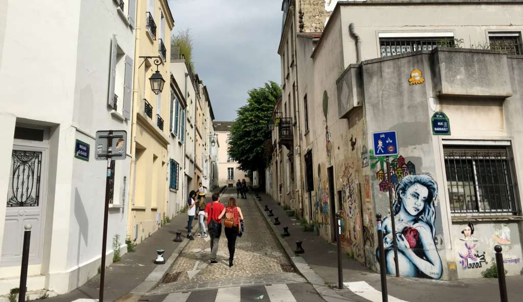 Parisian District Turns into Outdoor Gallery