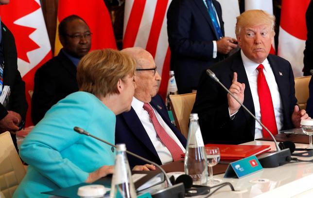 Trump, Merkel War of Words  Escalates