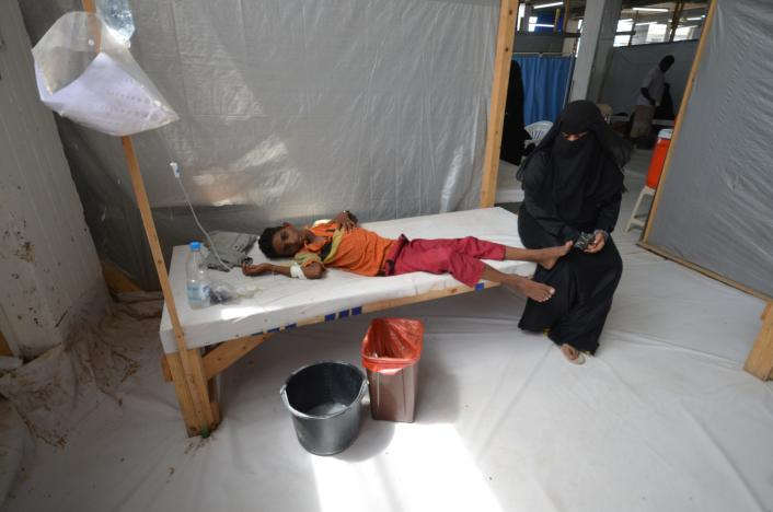 Riyadh-Based 'AGFUND' Supports Efforts to Fight Cholera in Yemen