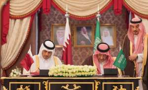 In a joint statement: Saudi-Qatari Coordinating Council said that combating terrorism was a joint international responsibility
