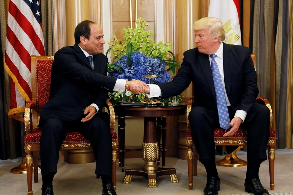 Sisi Underlines Facing Terrorist Groups without Prejudice, Settling Palestinian Cause