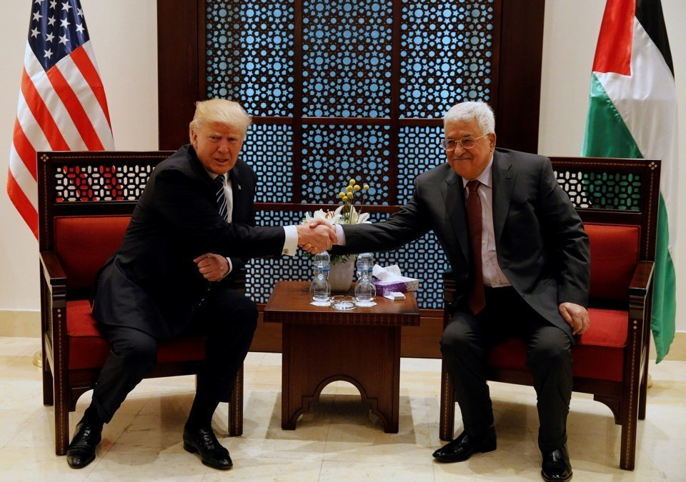 Abbas Voices Commitment to Two-State Solution, Arab Peace Initiative