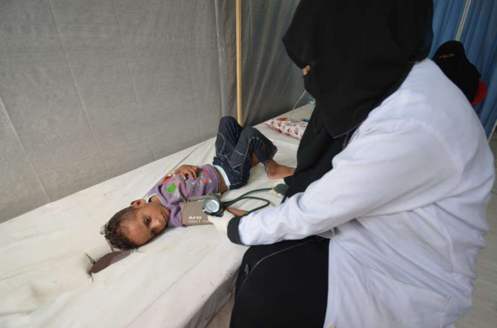 Cholera Outbreak in Yemen May Spiral Out of Control