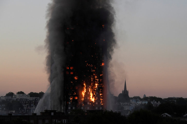 London Fire Shows Why Britons Don't Trust the System