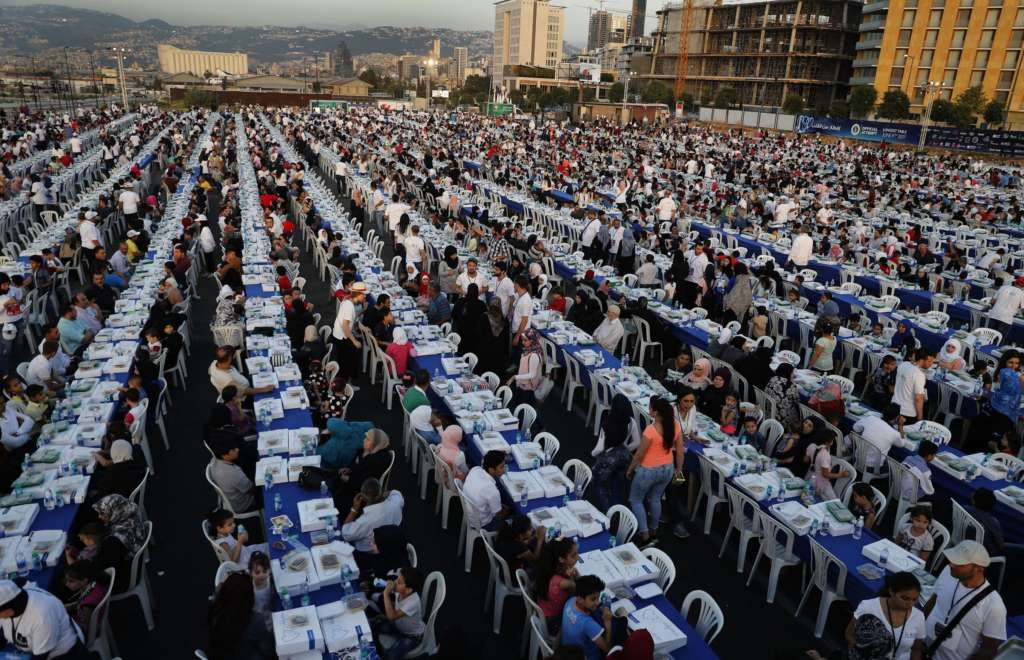 Lebanon Enters Guinness Record Book with Longest Iftar Table
