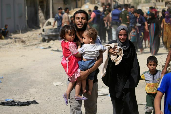 Scores of Civilians Killed while Fleeing ISIS in Mosul