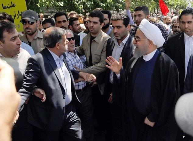 Anti-Rouhani Chants Mar 'Quds Day' Rallies in Tehran