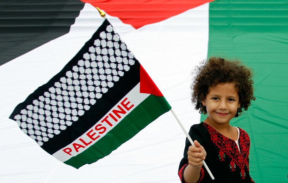 Desired Palestinian State under Three Powers
