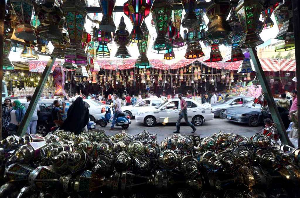 Egyptian Family Preserves Craftsmanship of Handmade Lanterns