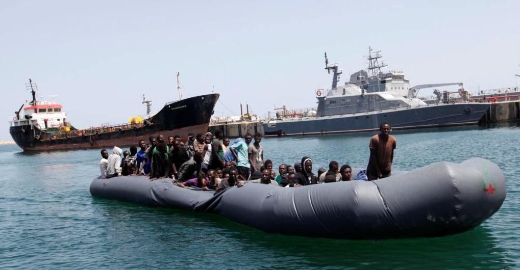 Coast Guard Intercepts more than 900 Migrants off Libya