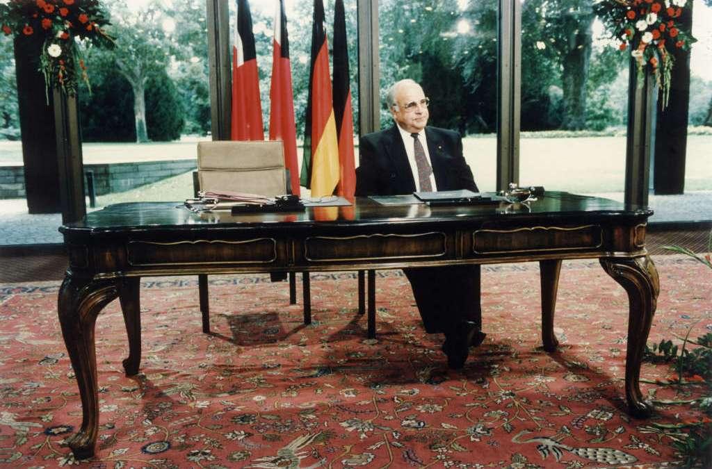 Helmut Kohl's Unfinished Business