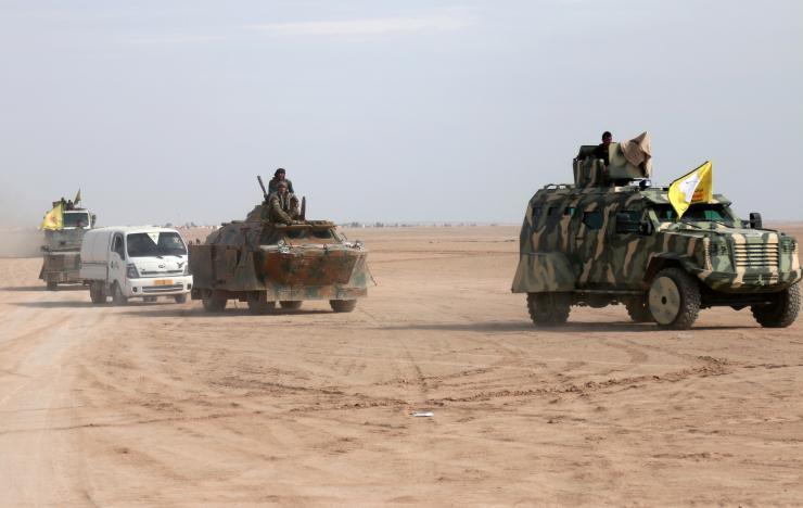 SDF Controls 3 Dams as Syria Regime Nears Raqqa