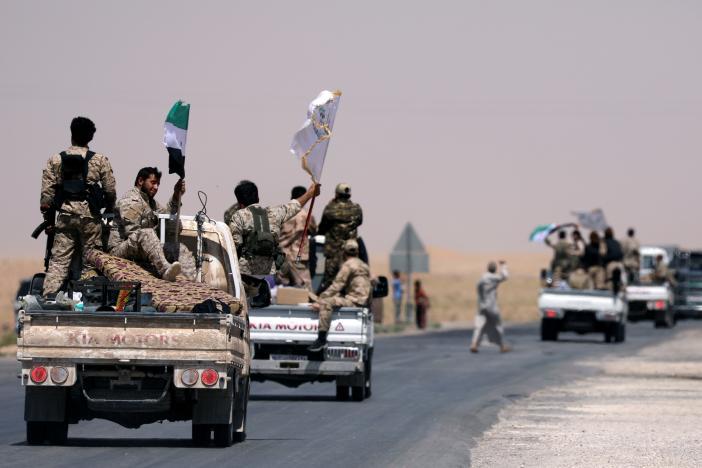 Washington Hits Again Syrian Regime Convoy