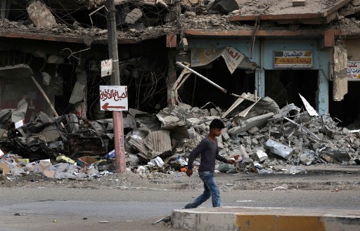 West Mosul Residents Start Task of Rebuilding their Destroyed City
