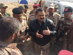 Iraqi Defense Minister Erfan al-Hayali.