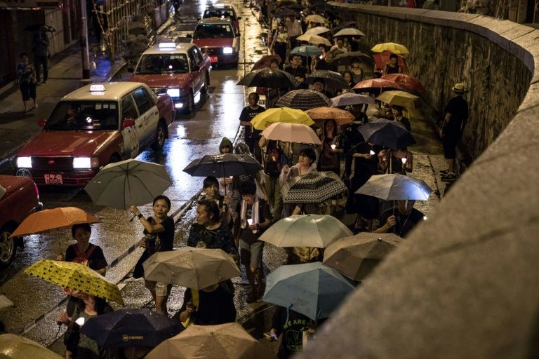 Thousands of Hong Kongers Take to Streets in Memory of Long-Time Dissident Liu Xiaobo
