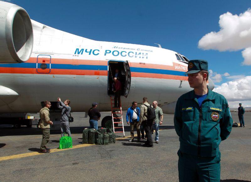 First Russian Aid Plane Arrives in Yemen's Aden