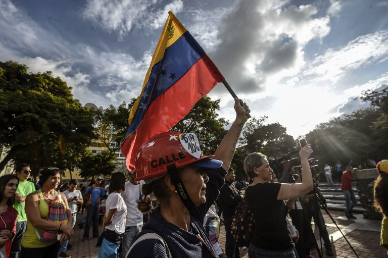 Venezuela Opposition Holds Symbolic Vote against Maduro Constitution Rewrite