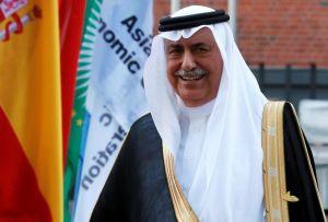 Saudi Arabia Minister of State Ibrahim Abdulaziz Al-Assaf at the G20 summit in Hamburg, on July 7, 2017