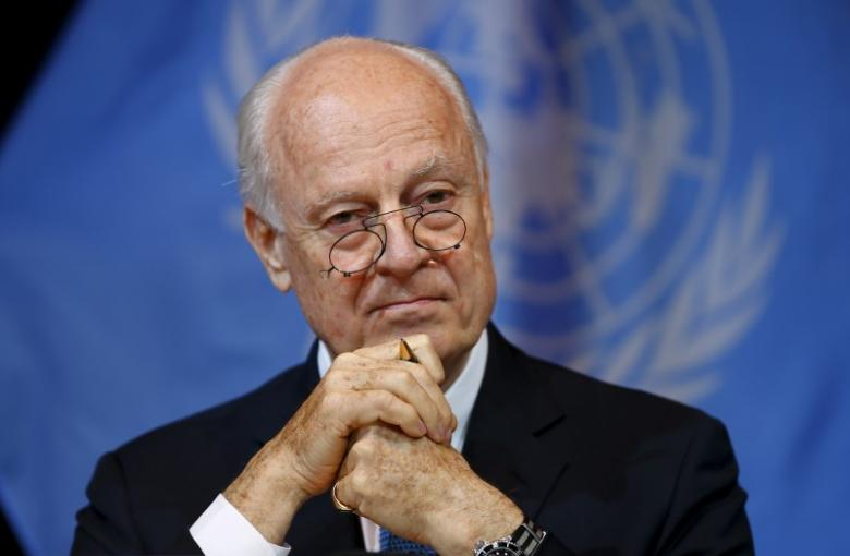 De Mistura Says Truce in the South is Temporary, Understands Syrians' Concerns over Partition