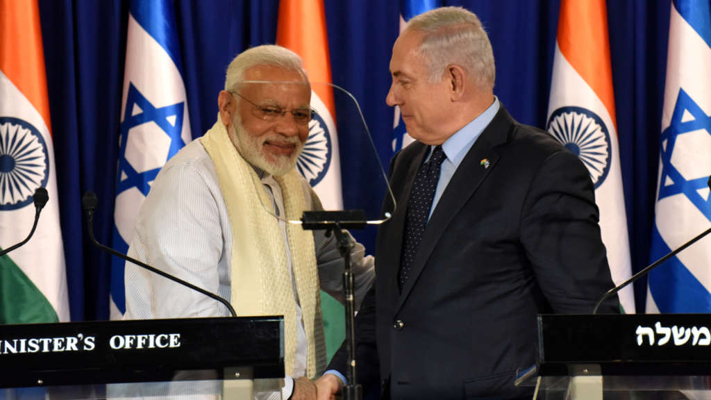 Modi's Visit to Israel, Arabs Going Green with Envy