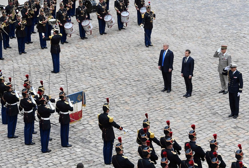 Trump Concludes Two-Day French Visit by Attending Bastille Day Parade