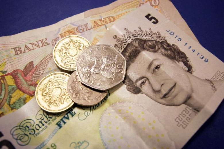 Sterling Slips after Data Clouds UK Economy Outlook