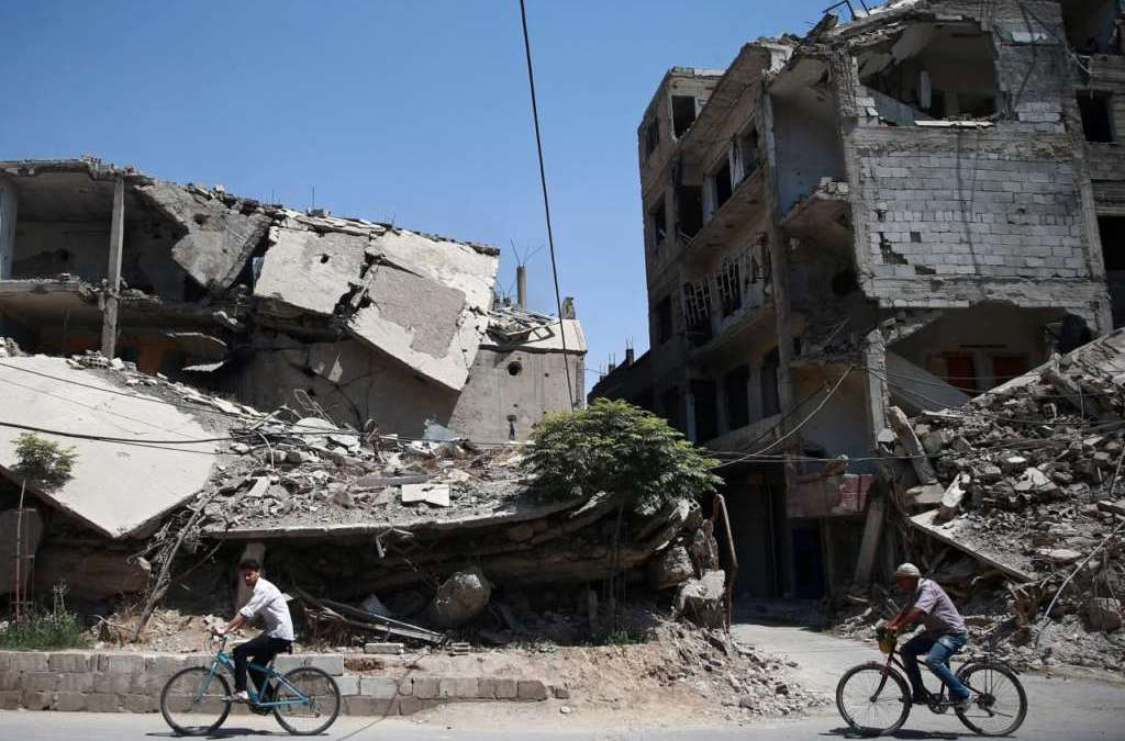 Ghouta Ceasefire… Local Administration, Commerce with Damascus