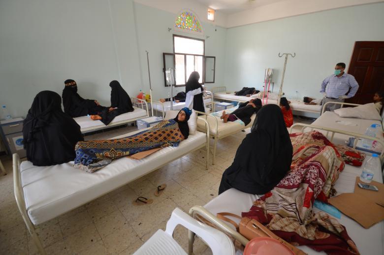Cholera Epidemic Slows Down in Yemen, WHO Reports