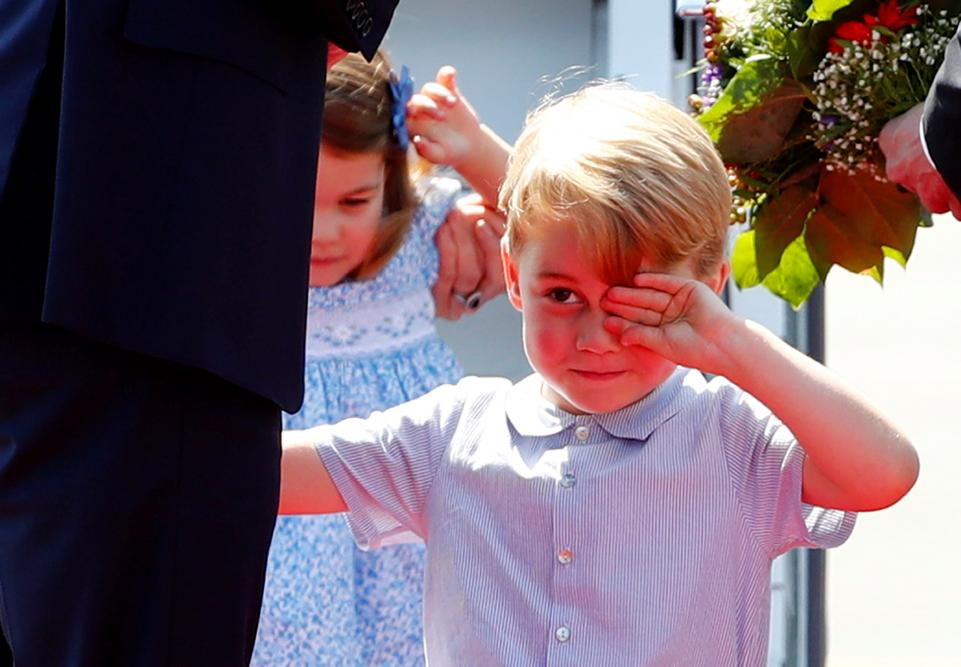 Prince William Surprises his Son with Helicopter Ride on his 4th Birthday