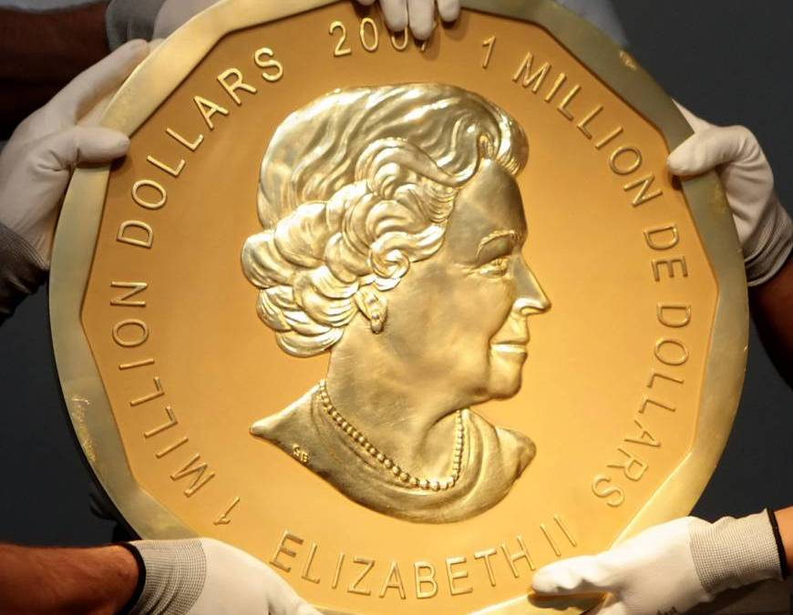 German Police Arrest Thieves for Stealing Giant Gold Coin from Berlin Museum