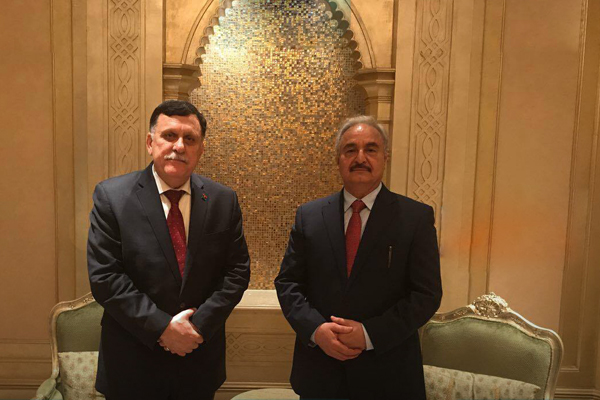 France Seeks a Libya Breakthrough during Haftar-Sarraj Elysee Meeting