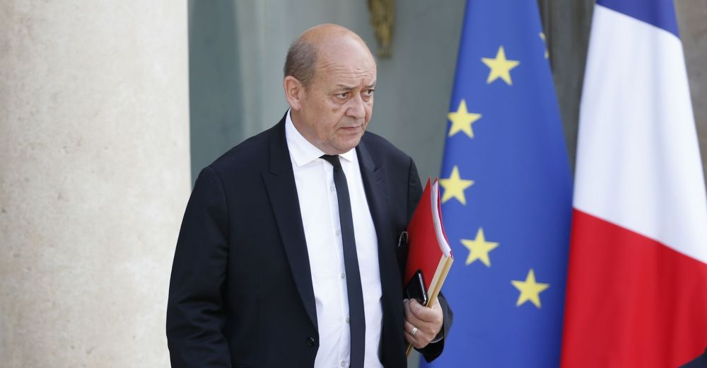 French Foreign Minister: 'Only Gulf States Can Solve the Crisis'