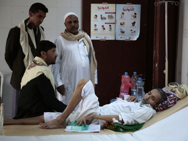 Cholera Declines in Five Yemeni Provinces