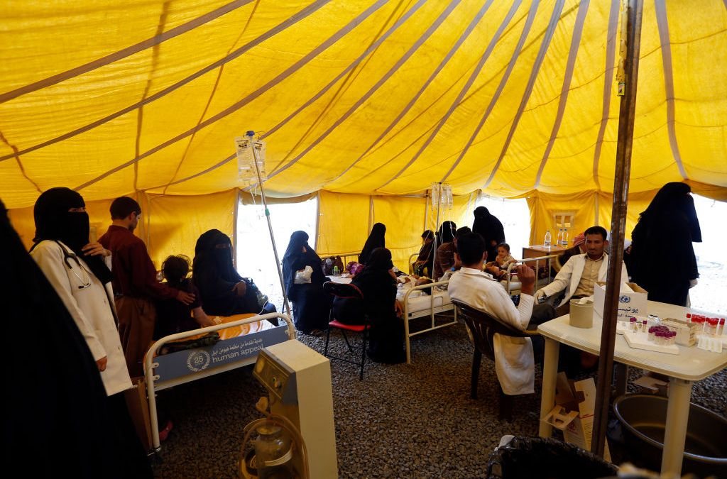 UAE Backs Cholera Fight in Yemen with $10 Million Grant