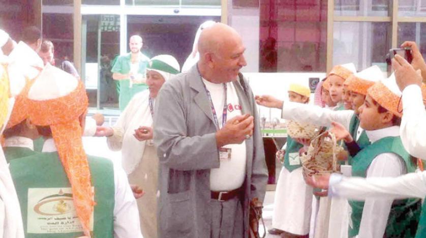 Hajj Pilgrims Receive a Warm Saudi Welcome