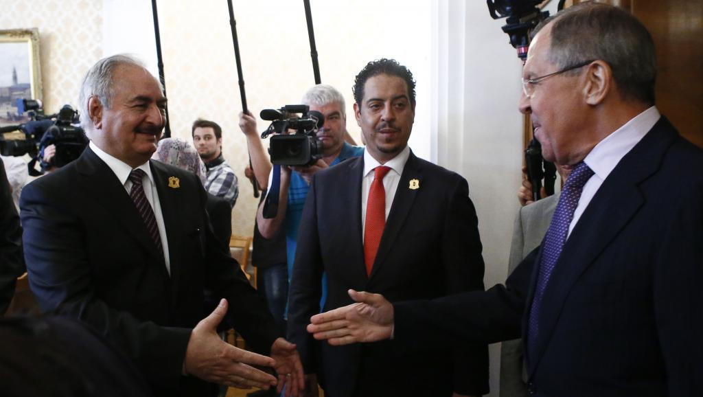 Lavrov, Haftar: Mediation Efforts in Libya Should Come through the UN