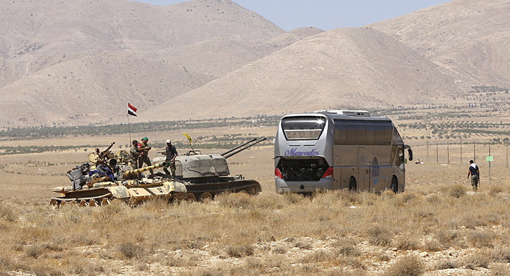 ISIS Moves from Qalamoun to Iraqi Border under Syrian Regime Sponsorship