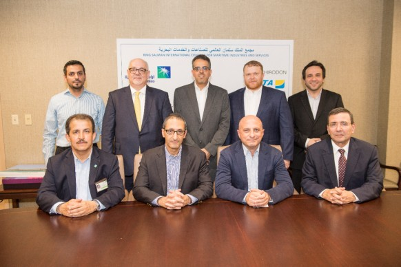 Aramco Signs First Contract for King Salman Int'l Complex for Maritime Industries and Services