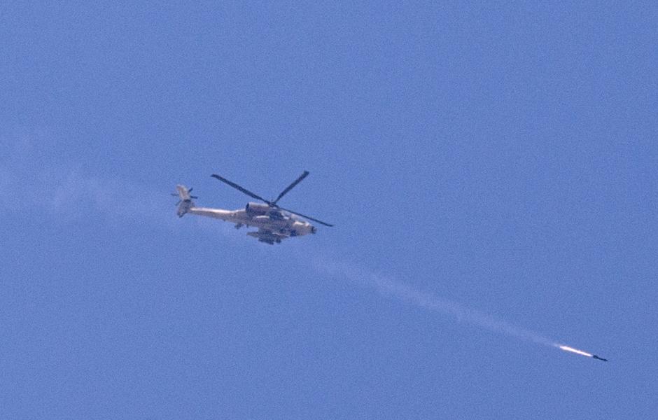 Pilot Killed in Israeli Military Helicopter Crash