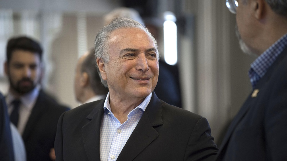 Brazil President Survives Congressional Vote over Corruption Charges