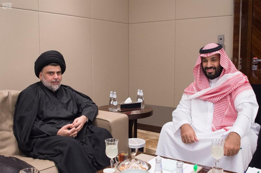 Moqtada al-Sadr in Riyadh