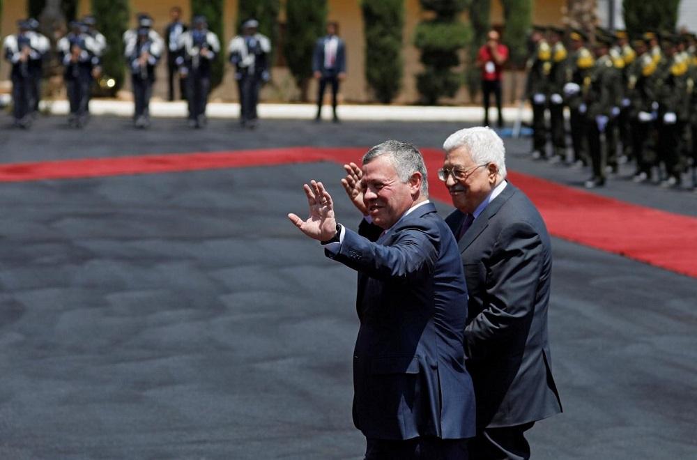 Palestinian President, Jordan King Agree to Form Joint 'Crisis Unit'
