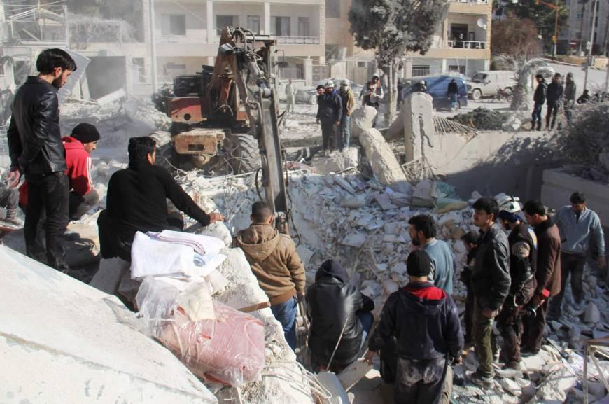 Washington Monitors 10,000 Qaeda Militants in Idlib
