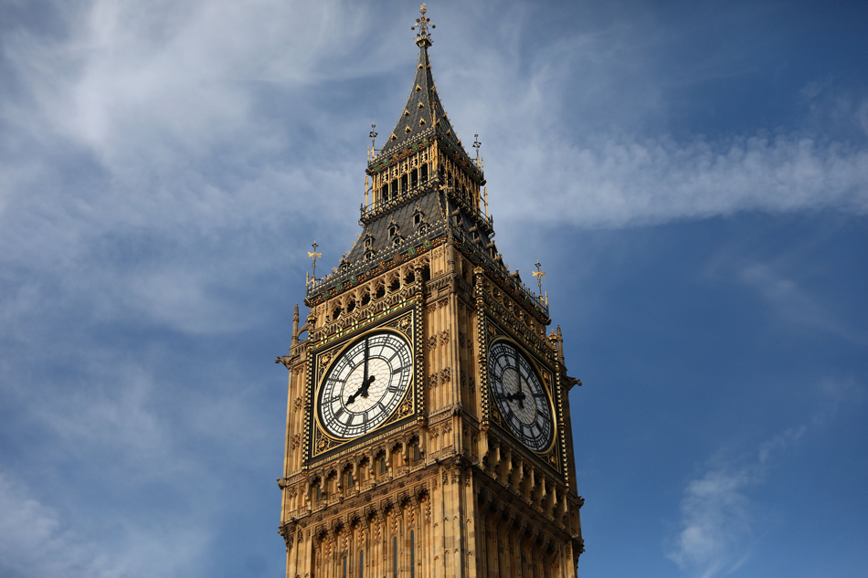 Big Ben to Stop Ringing until 2021