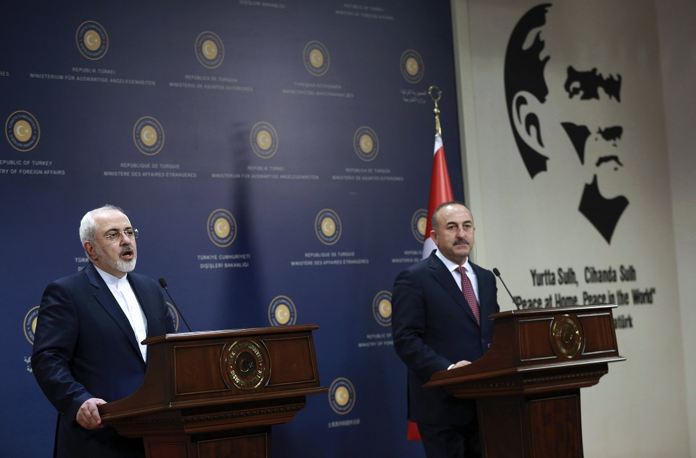 Turkey, Iran FMs Discuss Latest Developments in Syria