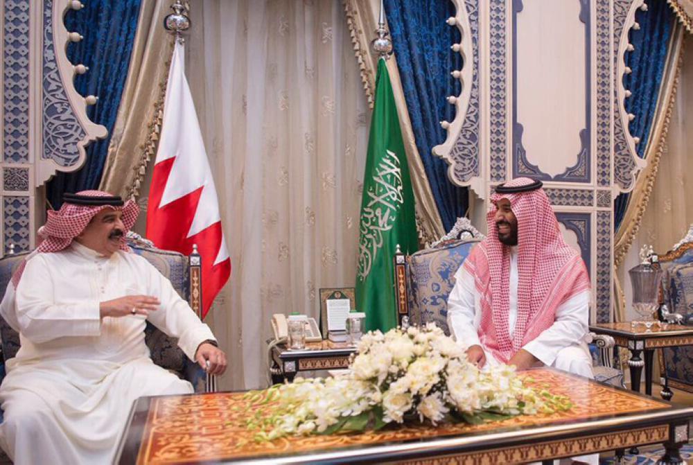 Saudi Vice Custodian, Bahraini King Discuss Bilateral Ties